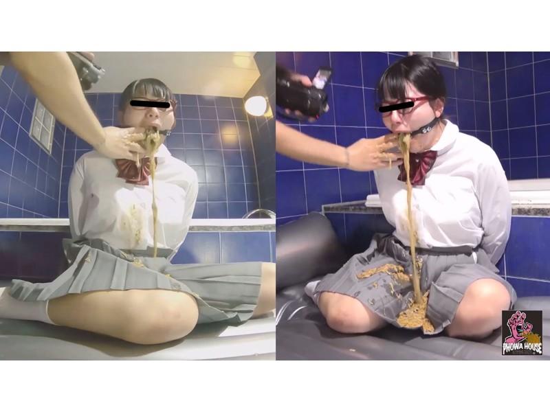 女学生 喉奥調教強引ゲロ2 ~ぶち込まれるガンフィンガー~ サンプル画像9