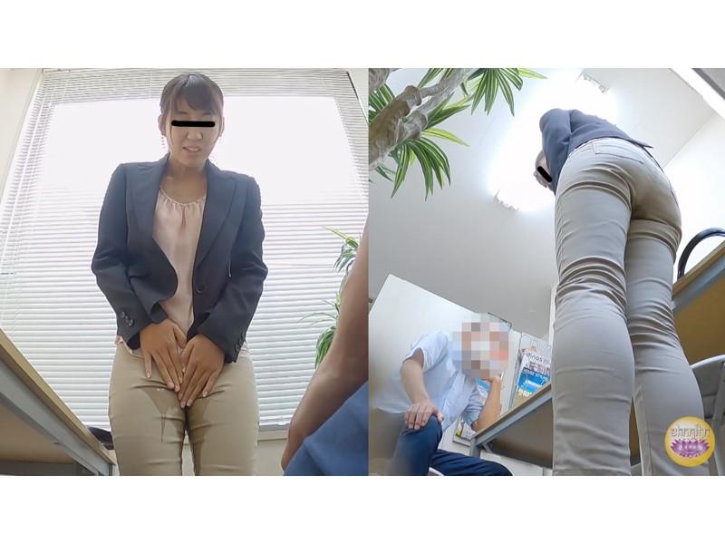 オフィス隠撮 OL説教お漏らし3 サンプル画像1