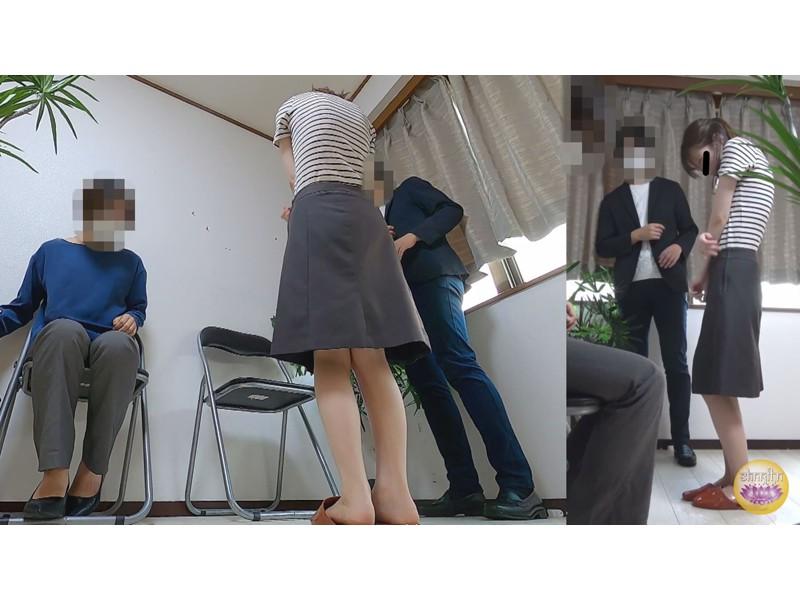 オフィス隠撮 OL説教お漏らし3 サンプル画像11