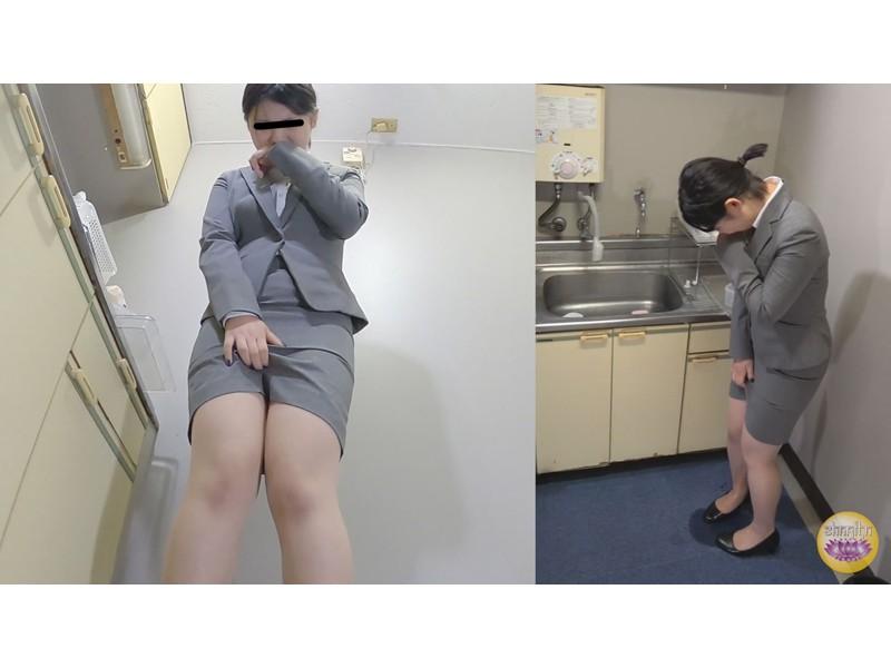 オフィス隠撮 OL説教お漏らし3 サンプル画像3