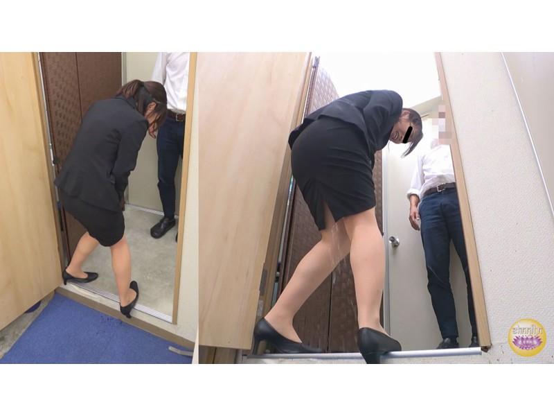 オフィス隠撮 OL説教お漏らし3 サンプル画像5