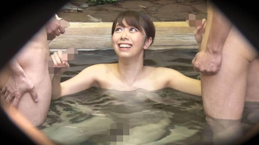 ゆり(18) 推定Cカップ 箱根湯本温泉で見つけたお嬢さん タオル一枚 男湯入ってみませんか?  サンプル画像11