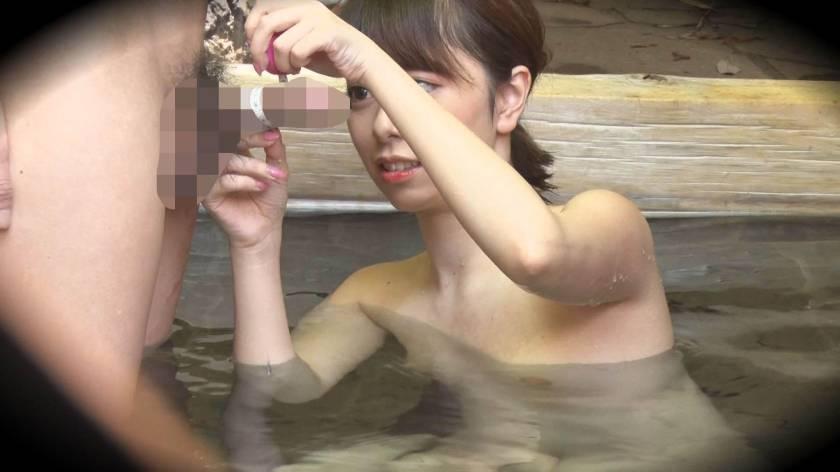 ゆり(18) 推定Cカップ 箱根湯本温泉で見つけたお嬢さん タオル一枚 男湯入ってみませんか?  サンプル画像12