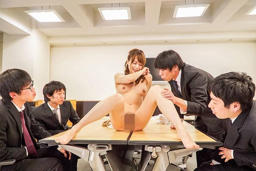 パワハラ女社長 屈辱の輪姦陵辱 吉沢明歩  サンプル画像17