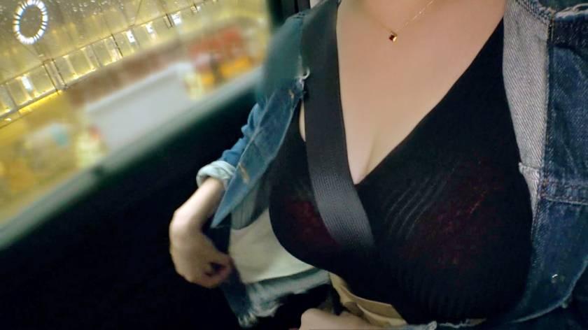 飲食店で働くエロ乳Hカップの23歳はるあちゃん参上!応募理由は「見られたい願望があって♪」見られたいより見せたいの間違えてでは?自慢のエロ乳を見せびらかしにやってきた巨乳美女はおっぱいの事なら任せろとパイズリしながらフェラもする!「やっぱり見られると興奮するぅ?♪」逆、逆ぅ?♪  サンプル画像1