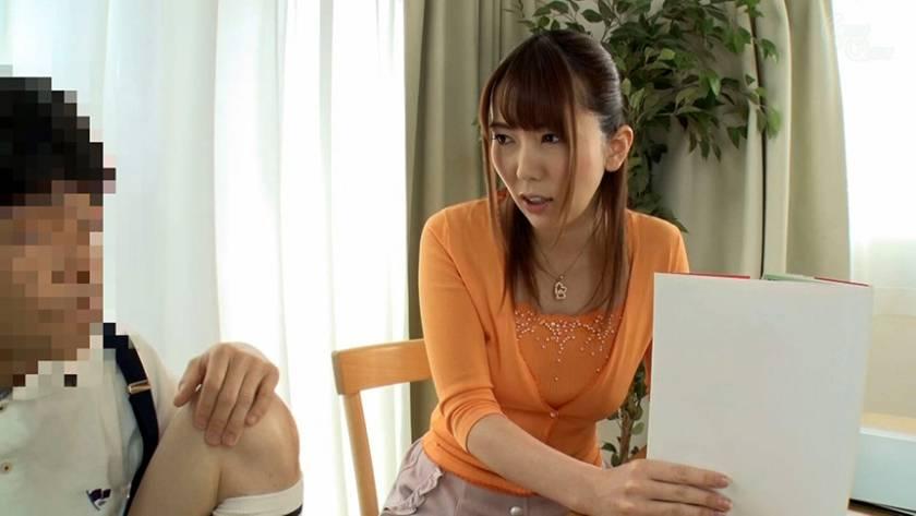 教え子のチ○ポに欲情するシ●タコン女家庭教師 波多野結衣  サンプル画像3