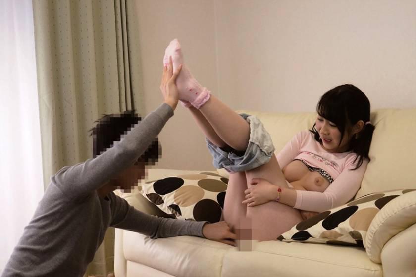 飛鳥りん 姉からのお下がりを着させられているムチポチャ末っ子ちゃん(18) 食い込み羞恥ちびピタ服えっち  サンプル画像3