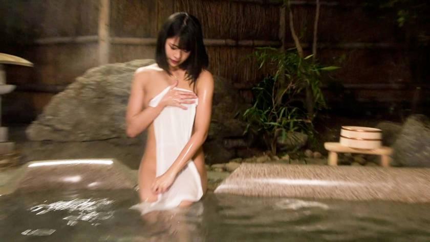 【NTR温泉】僕にはもったいないくらい可愛いくて美肌な彼女が見ず知らずの男とHをしたらどんな表情をしてヤルのか見てみたい さや(20)  サンプル画像3