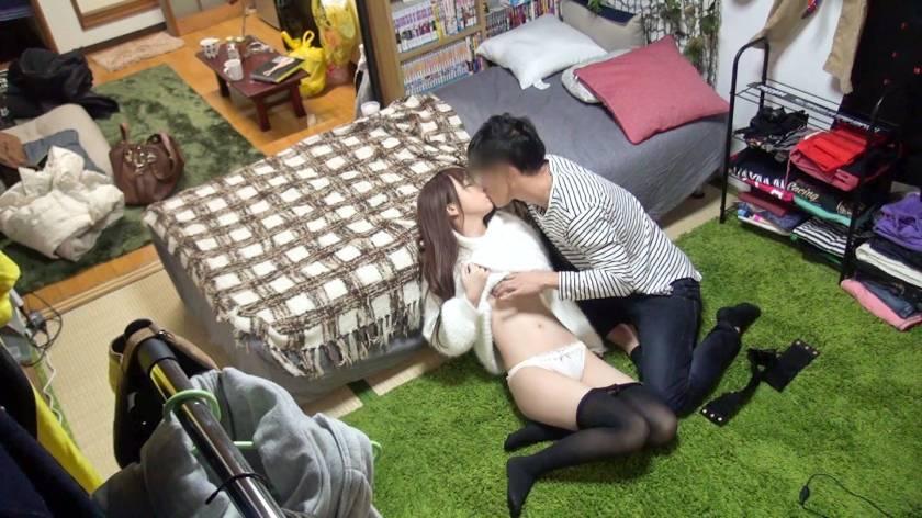 【ライブチャット】連れ込みライブチャット盗撮 ミキ(22)大学生  サンプル画像4
