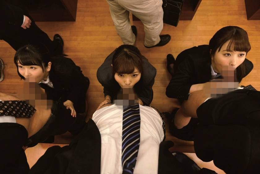 スーツ姿の女性従業員のフェラごっくんが人気のお店 紳士服のふぇらやま vol.2  サンプル画像5