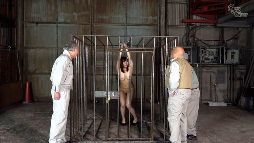 老働者に輪姦され性奴隷と化す巨乳未亡人 愛花みちる  サンプル画像7