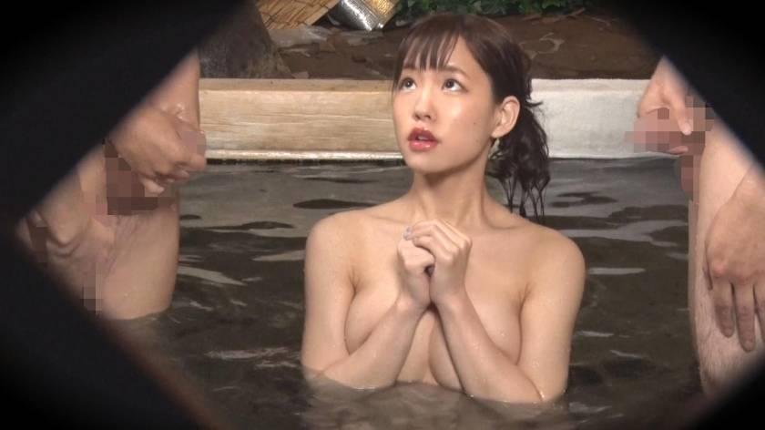 あいり(23) 推定Eカップ 箱根湯本温泉で見つけたお嬢さん タオル一枚 男湯入ってみませんか?  サンプル画像8