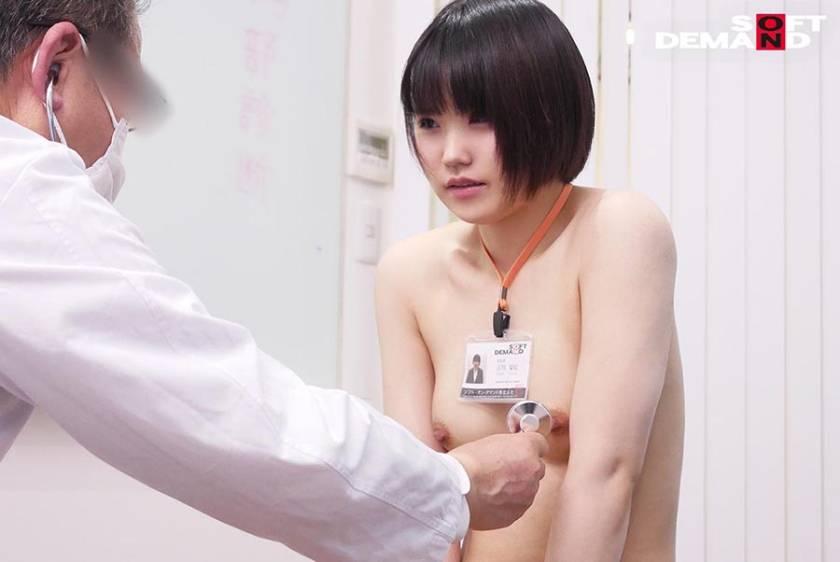 SOD女子社員 新入社員限定 ロリっ娘だらけの全裸で健康診断 サンプル画像10