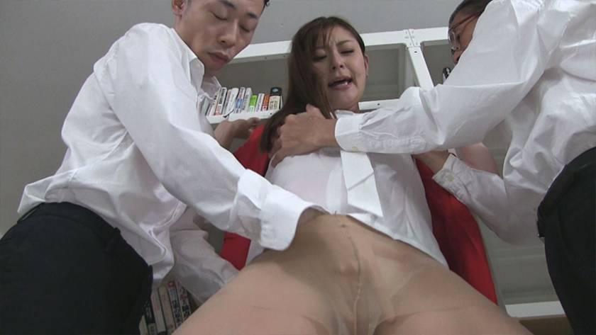 妄想女教師痴漢 葵百合香 サンプル画像10