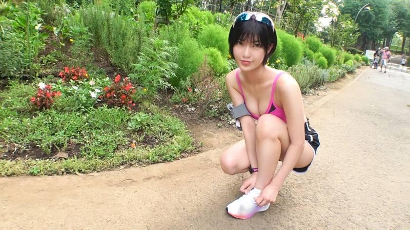 ジョギングナンパ 24 【スレンダーで隠れ巨乳】真夏の公園を サンプル画像11