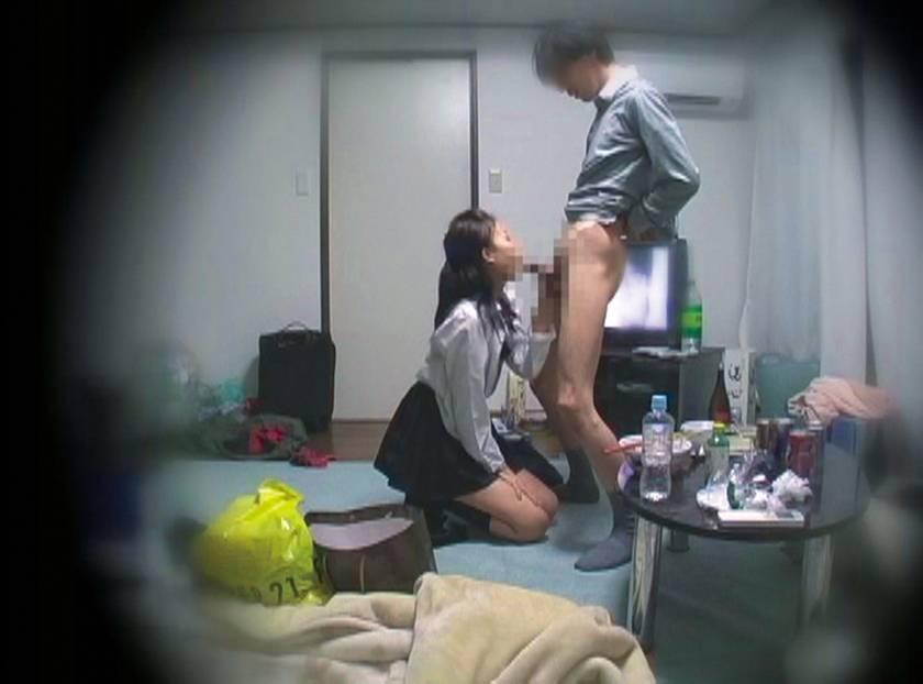 パパ活する制服女子○生の危ないお遊び サンプル画像12
