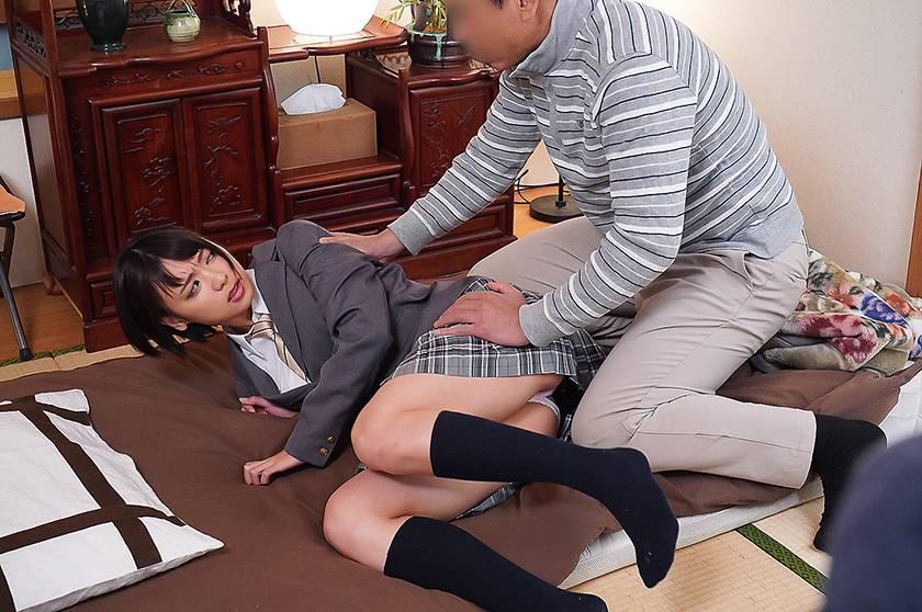 鬼畜父の性玩具 彼氏との仲を引き裂かれた制服美少女もなみ鈴 サンプル画像12