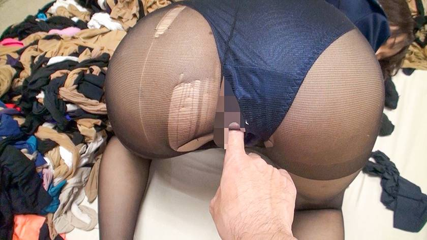 神パンスト 乙咲あいみ 制服ロリ美少女の美脚を包んだ生ナマし サンプル画像16