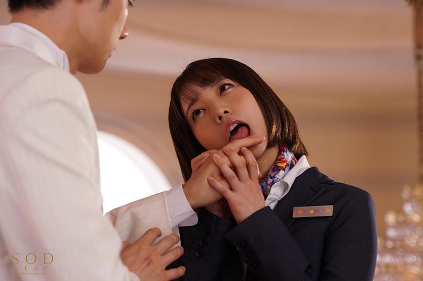 戸田真琴 結婚式最中の新郎に●●中出しさせる美人ウェディング サンプル画像1