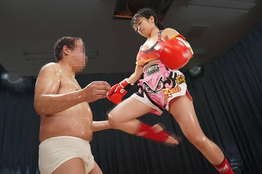 史上最強!ムエタイ王者妻が負けたら●●●のデスマッチに挑戦! サンプル画像1