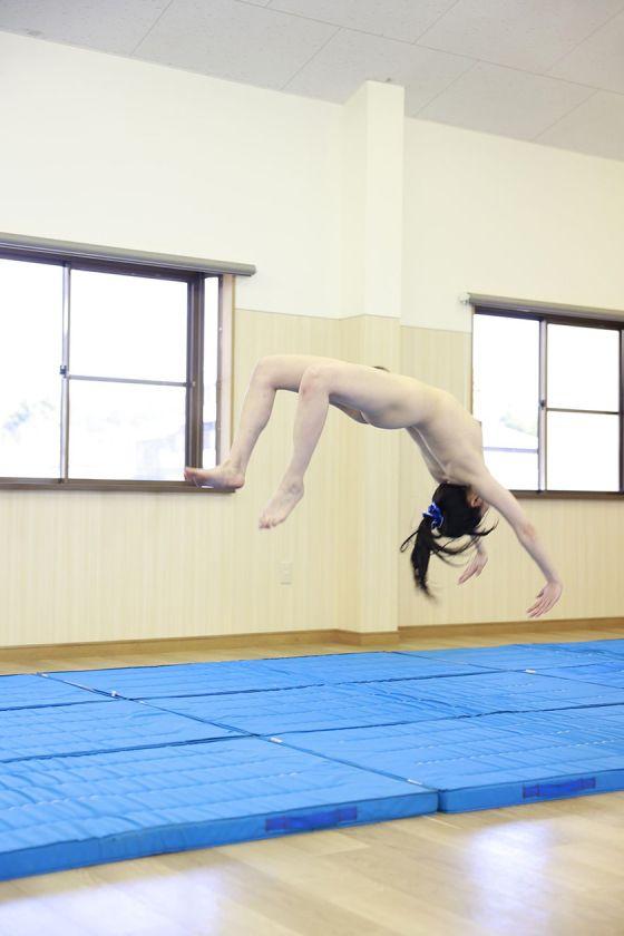 後輩の彼女の器械体操娘インターハイ出場・現役体育大生が、初め サンプル画像1