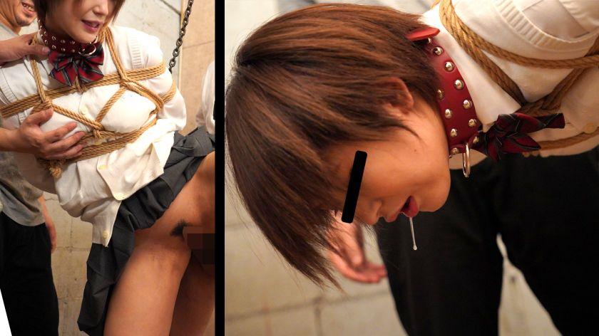 無垢な制服女子を緊縛し●●SEXでイカせろ! #結梨#18歳 サンプル画像1
