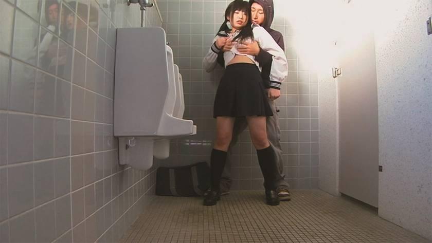 SNSに流出した校内盗撮風紀の乱れた学園 サンプル画像2