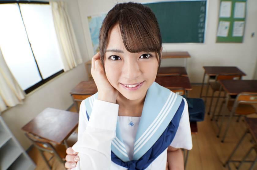【VR】あの頃、制服美少女と。 東條なつ サンプル画像2