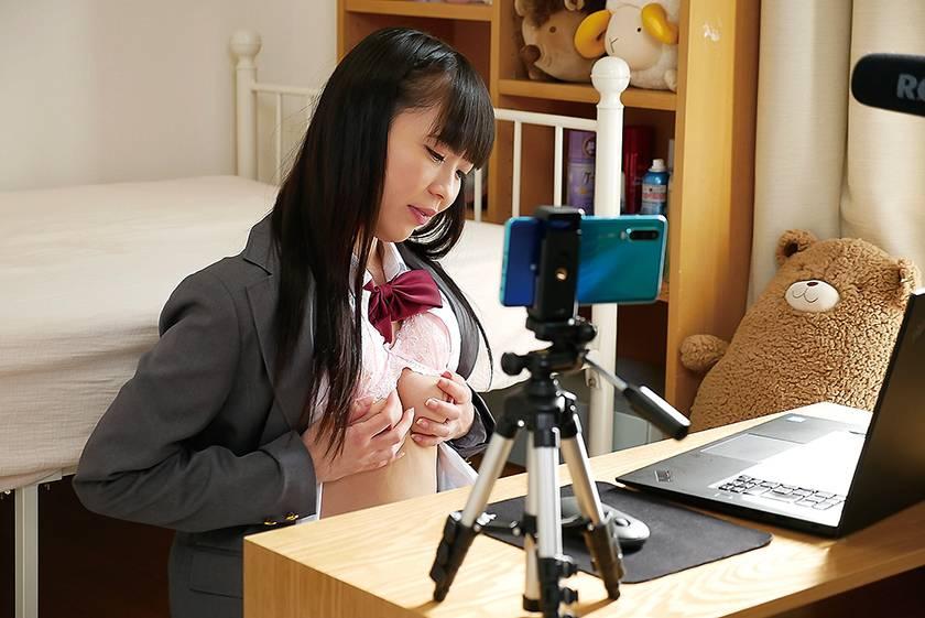 まさか!エロ配信が担任の先生にバレちゃうなんて!! 桜井千春 サンプル画像2