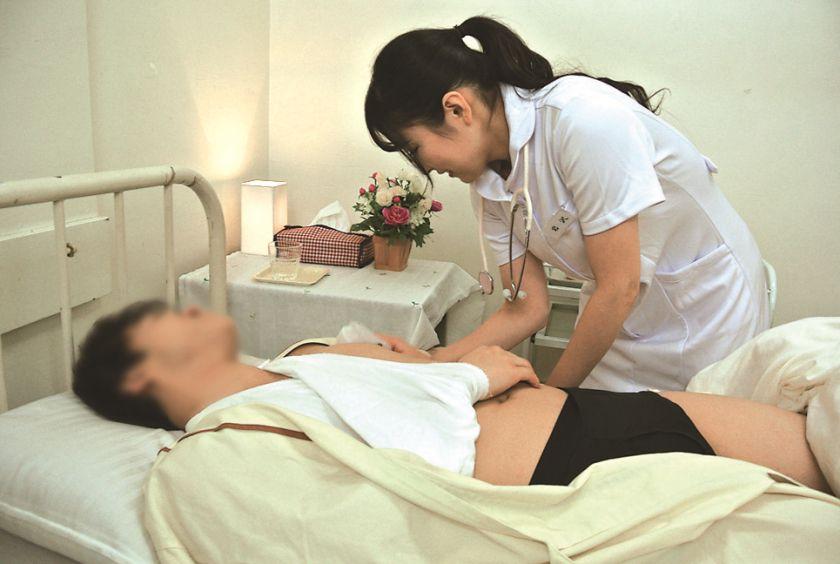 性処理専門病棟 美人ナースのエッチな看護 岩沢香代 サンプル画像3