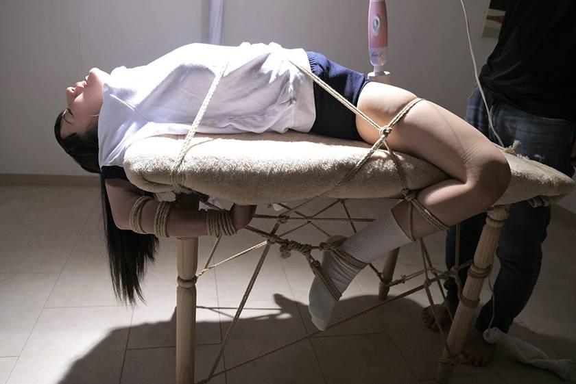 緊縛解禁 女子校生中出し孕ませ調教 河奈亜依 サンプル画像3