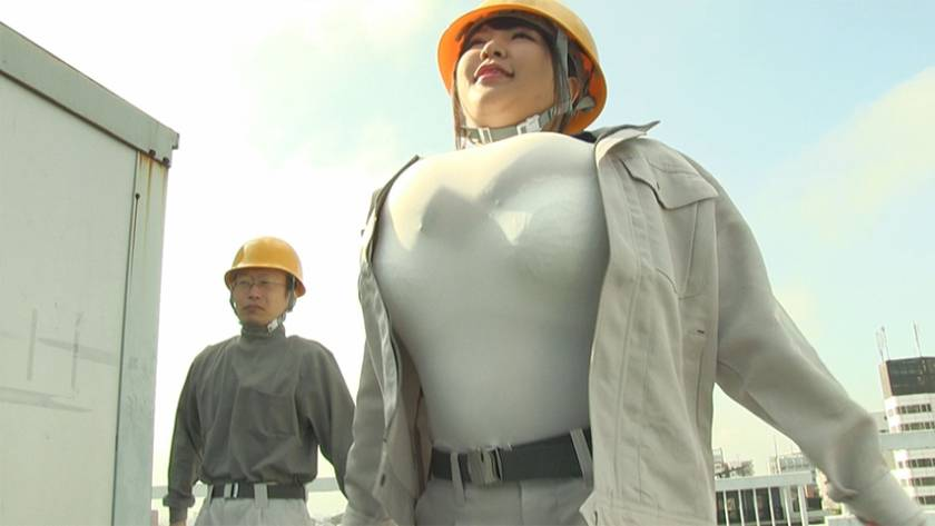肉感作業員 パイズリ作業所編 サンプル画像3