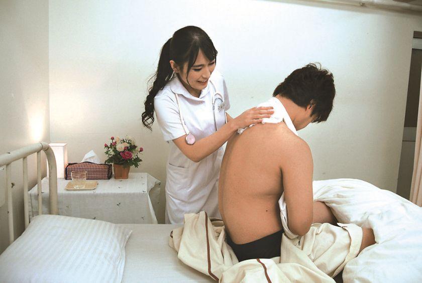 性処理専門病棟 美人ナースのエッチな看護 岩沢香代 サンプル画像4