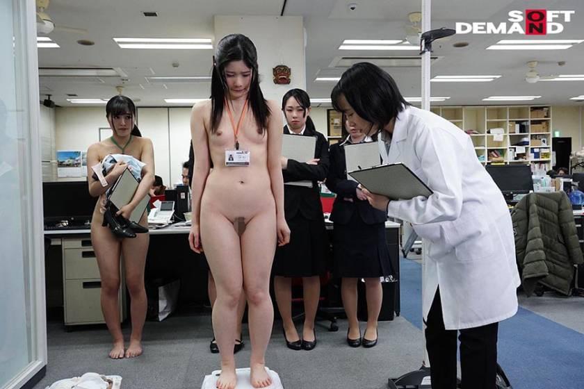 SOD女子社員 新入社員限定 ロリっ娘だらけの全裸で健康診断 サンプル画像4