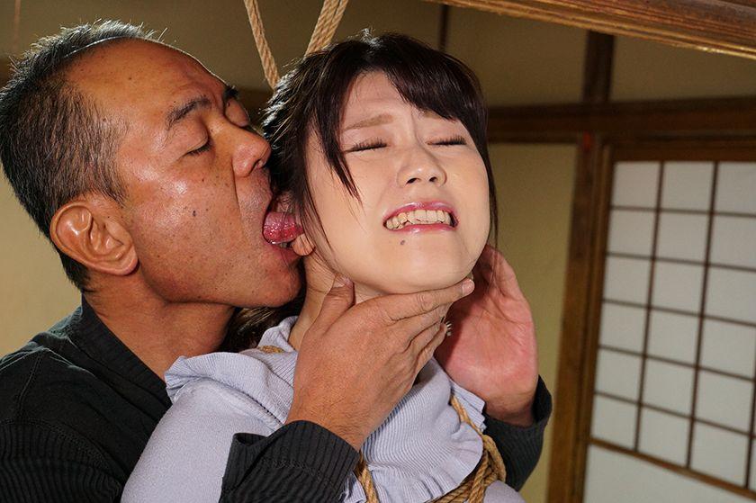 犯された不倫妻 義父の緊縛お仕置きに咽び泣く 浅宮ちなつ サンプル画像4
