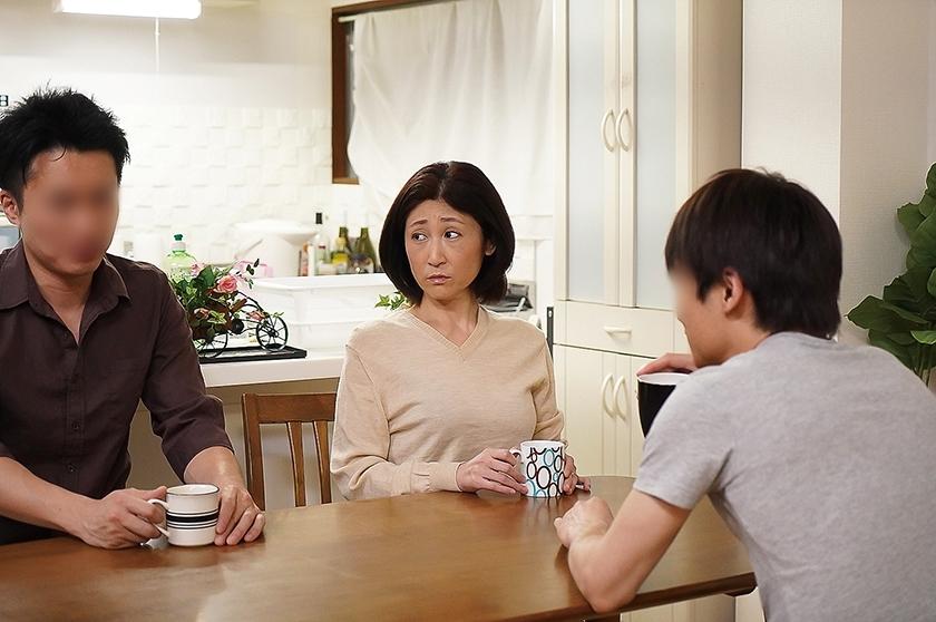 夫の面影を持つ息子と未亡人母 徳山翔子 サンプル画像4