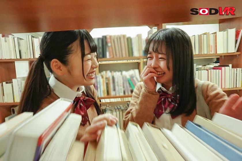 【VR】放課後の教室で女子生徒のアナルから噴射する牛乳が顔面 サンプル画像5