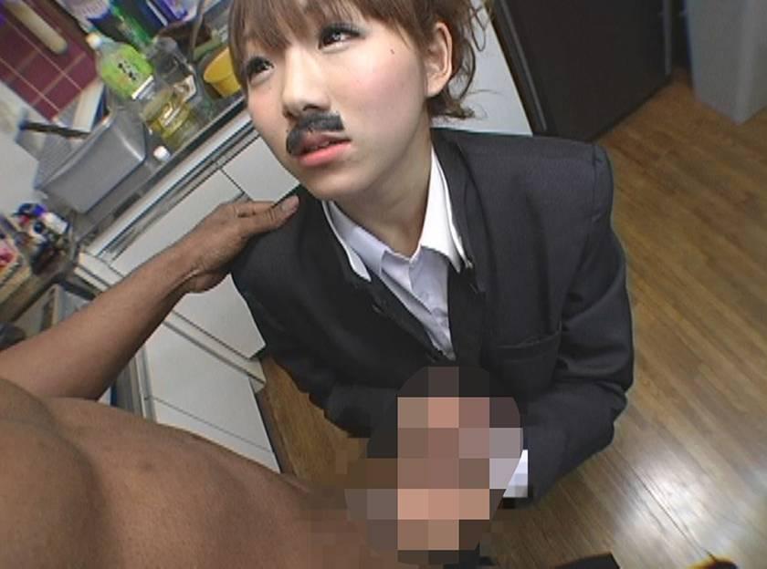 男らしいメンズに憧れる男装美少女が痴女化して汗臭いザーメンを吸い取る サンプル画像6
