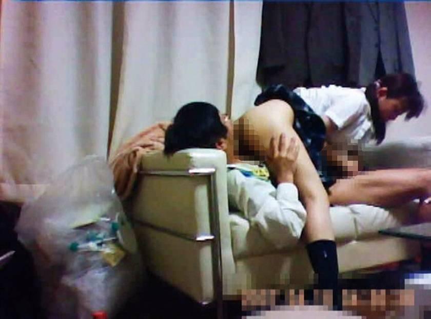 パパ活する制服女子○生の危ないお遊び サンプル画像8