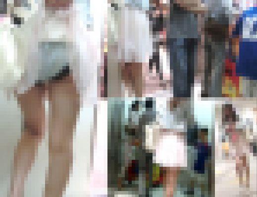 【鬼畜スカートめくり21】~満員エレベーター内でめくられ大衆の前で下半身をあらわにされた女の子~ サンプル画像3